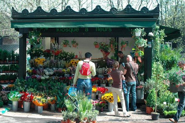 Kiosque à fleurs