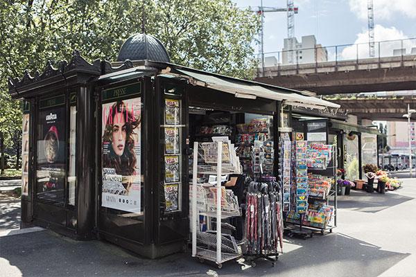 Kiosque à journaux Bel'Com
