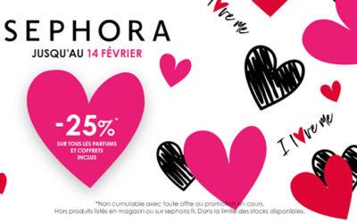 Sephora : Saint Valentin !