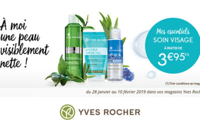 Yves Rocher : Cleansing Party !