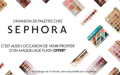 Sephora : Invasion de palettes
