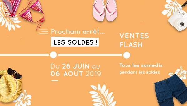 Ventes Flash pendant les soldes d'été !