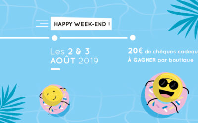 Happy Week-end de août