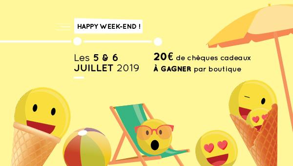 Happy Week-end spécial Soldes !
