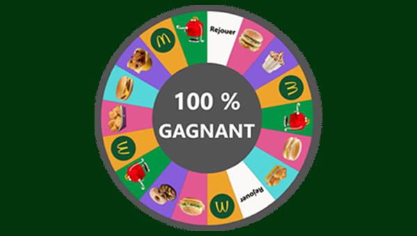La roue de la chance McDonald's