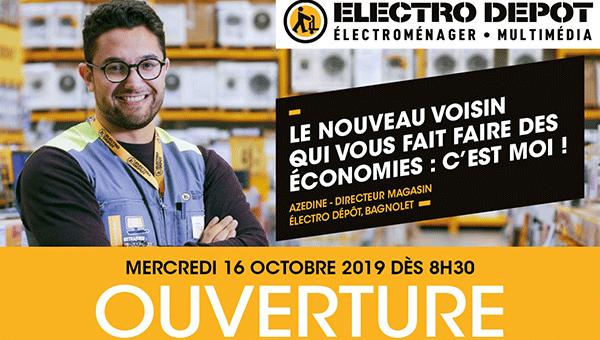 Electro Dépôt Bagnolet ouvre ses portes
