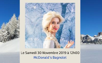 La Reine des Neiges s'invite dans votre McDonald's