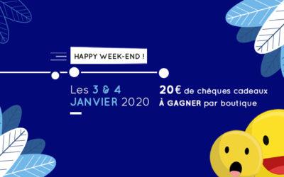 Le premier Happy Week-end de l'année 2020