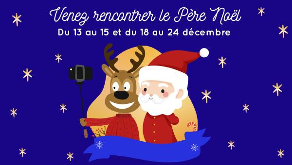 Le Père Noël arrive à Bel Est !!