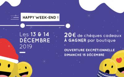 Happy Week-end de décembre