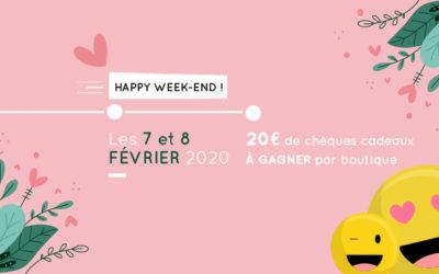 Happy Week-end de Février