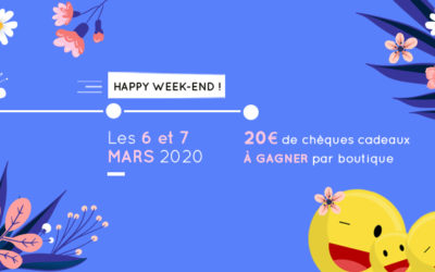 Happy Week-end mars