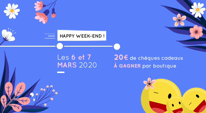 Happy Week-end mars